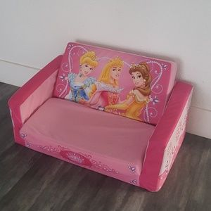 Magnificent Pink Disney Princess Flip Out Sofa Onthecornerstone Fun Painted Chair Ideas Images Onthecornerstoneorg